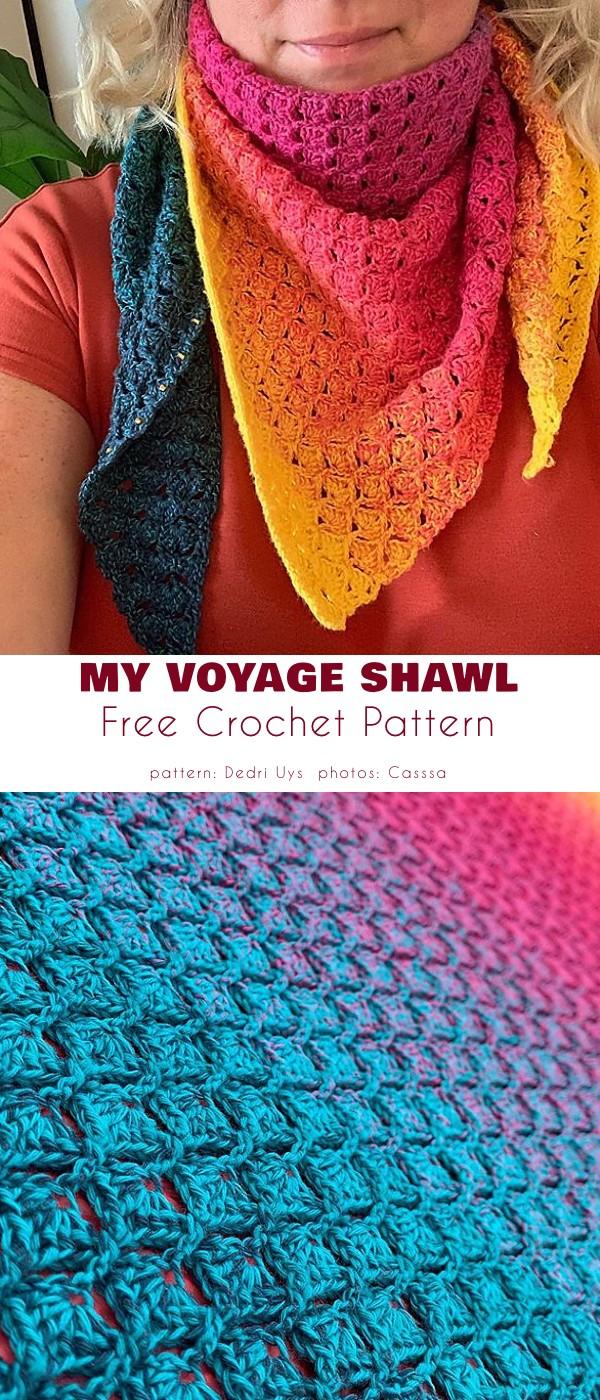My voyage shawl