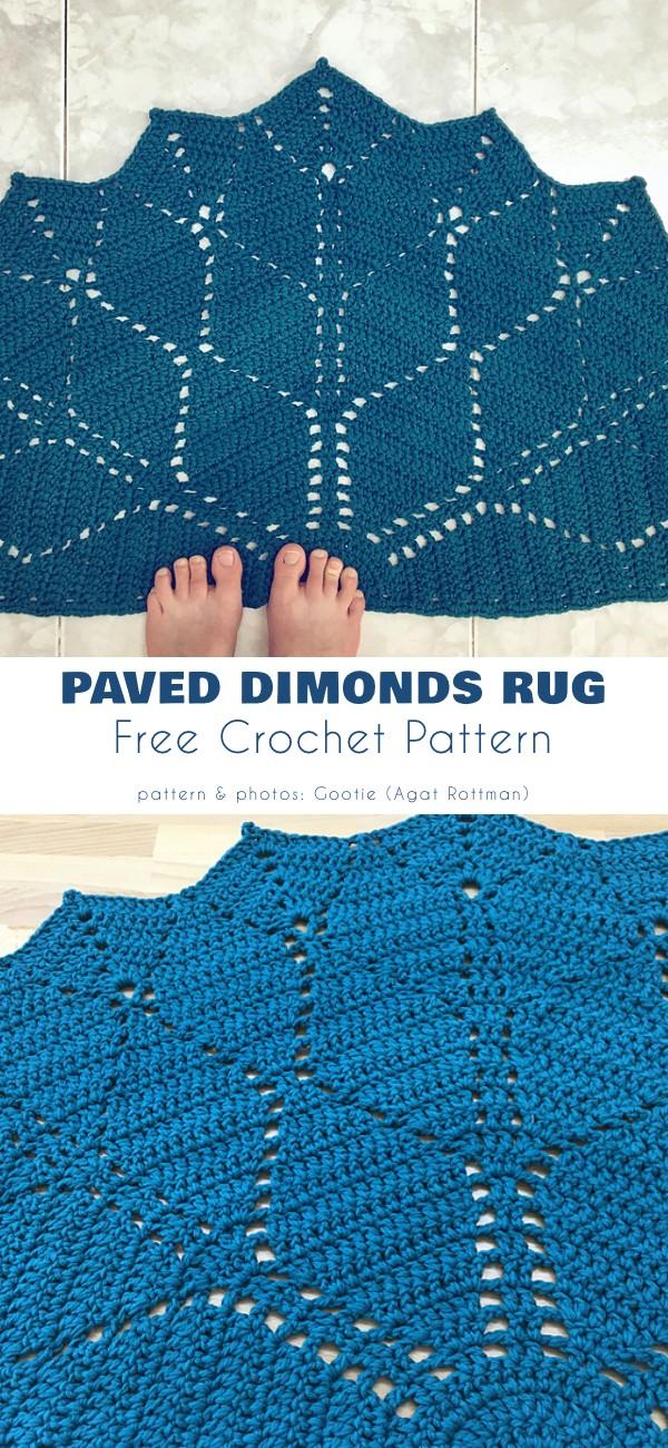 Paved Diamonds Rug