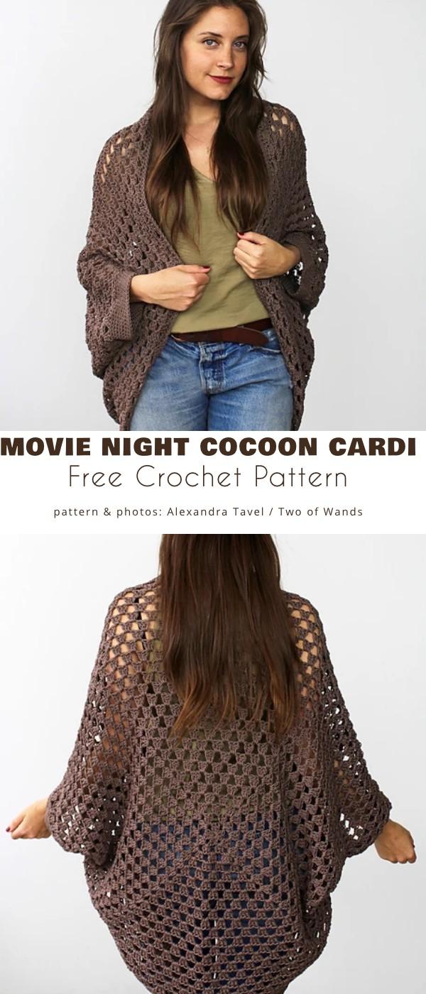 Movie Night Cocoon Cardi