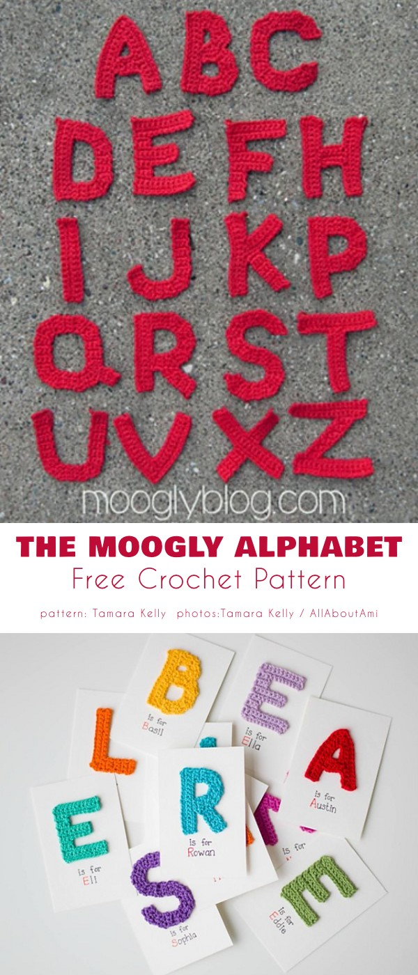 The Moogly Alphabet