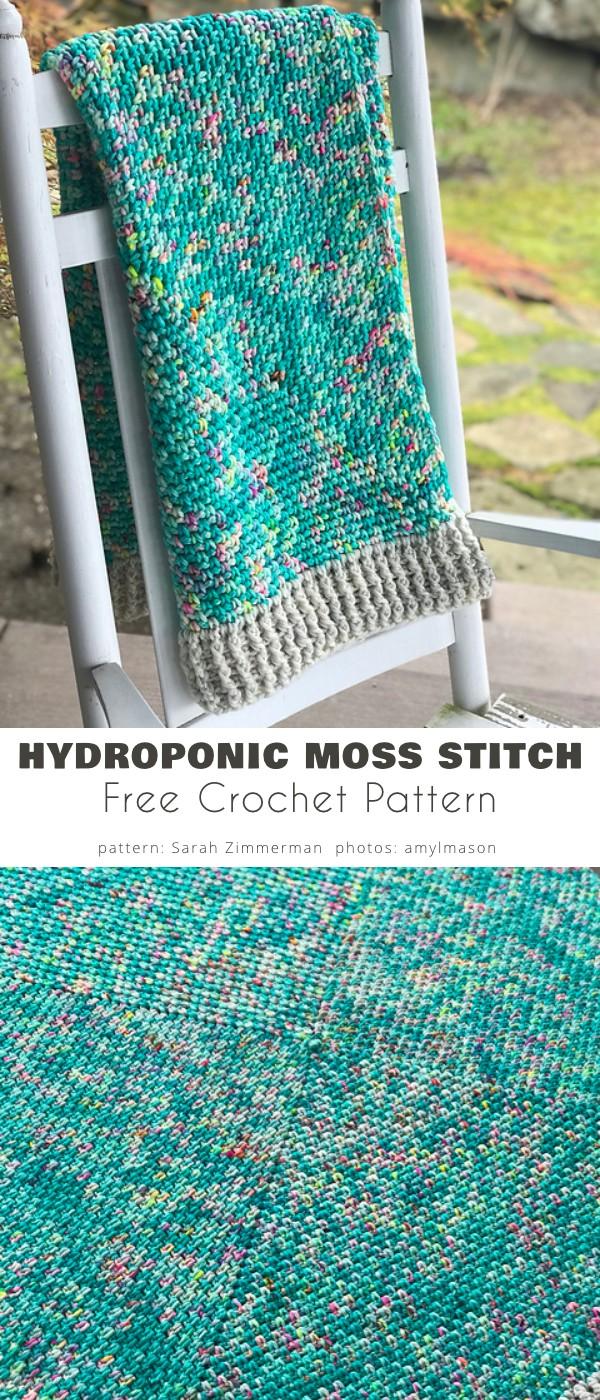 hydroponic Moss Stitch