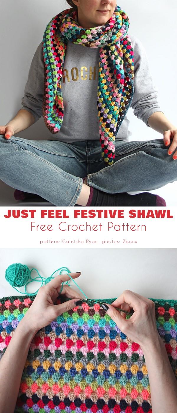 Just Feel Festive Shawl