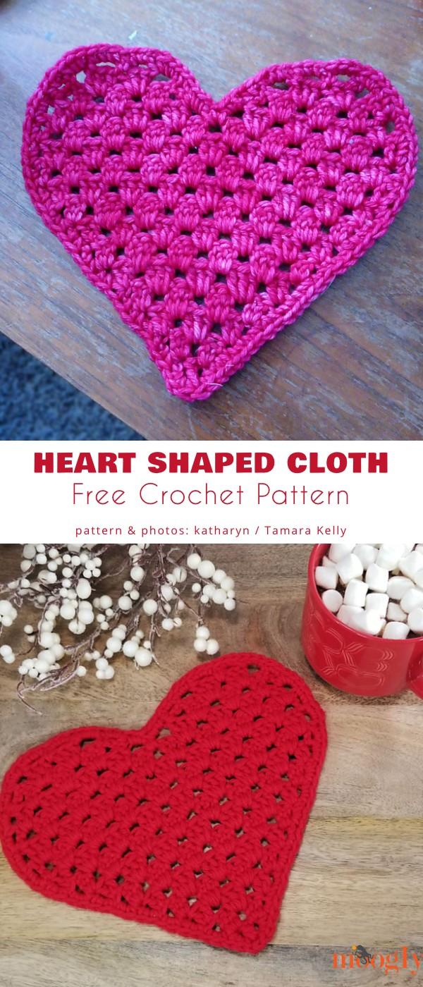 Heart Shaped Cloth