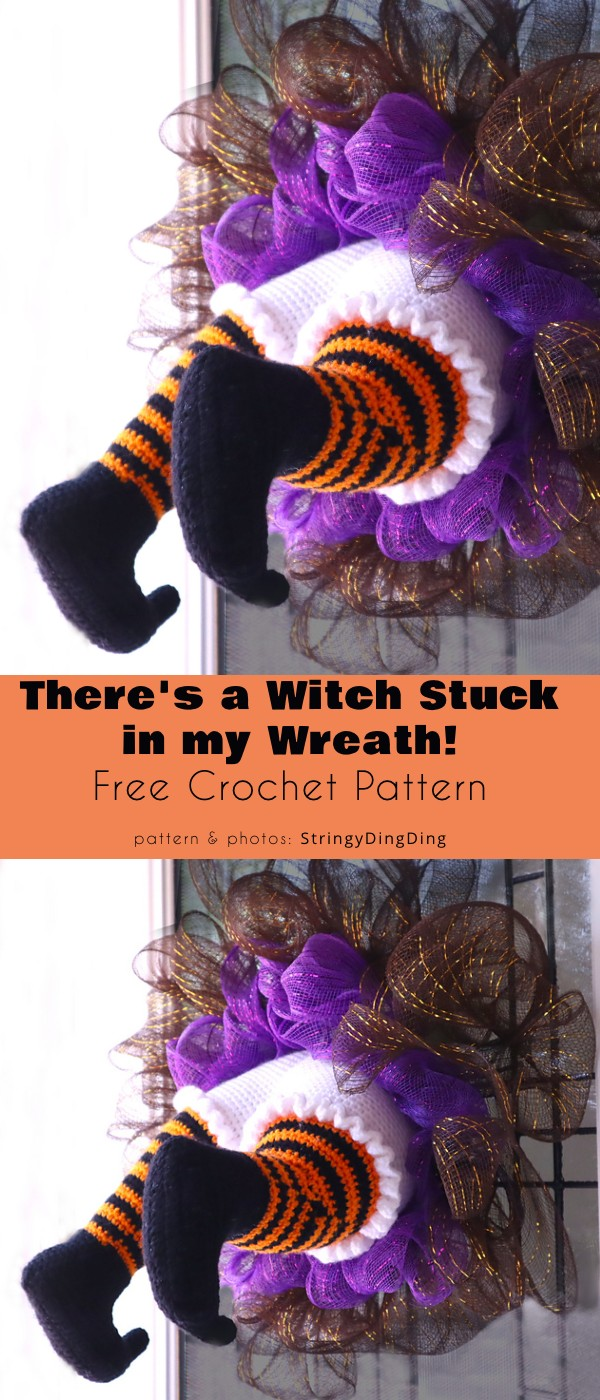There is a Witch Stuck in my Wreath!