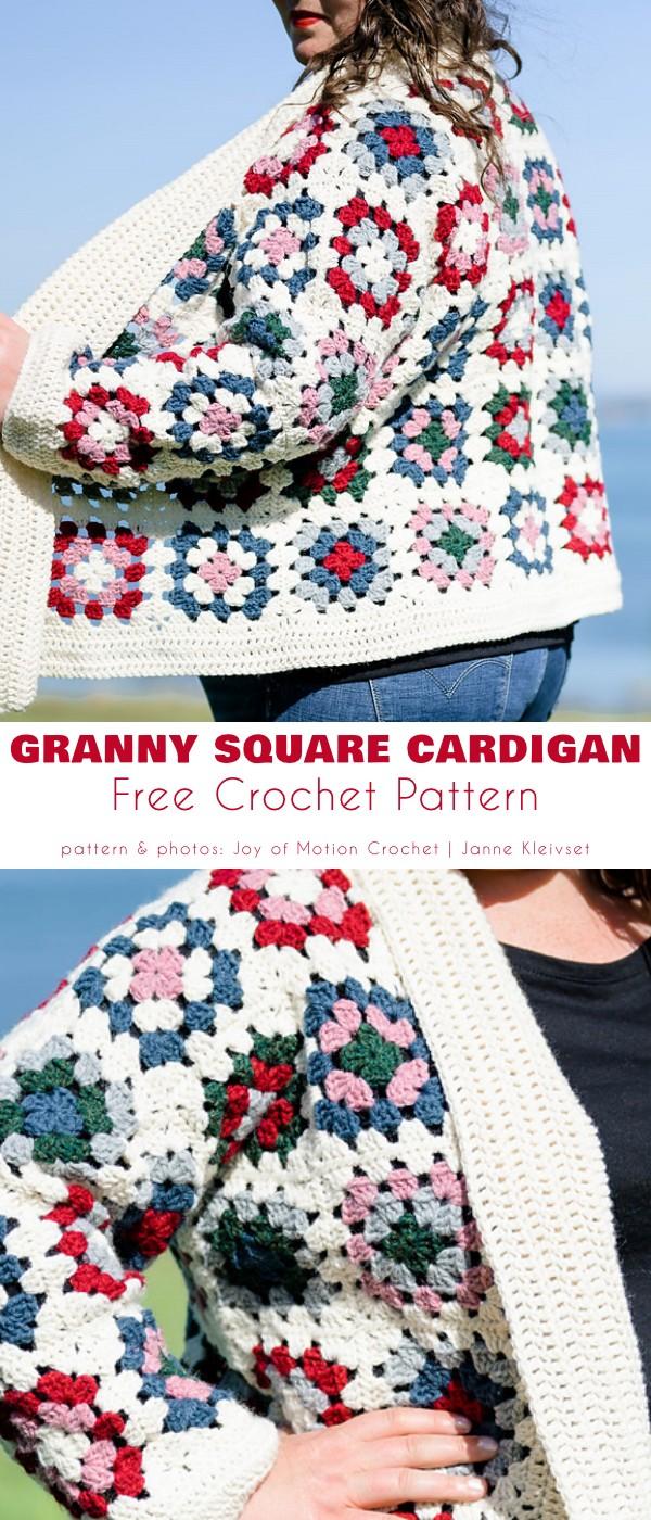 Granny Square Cardigan