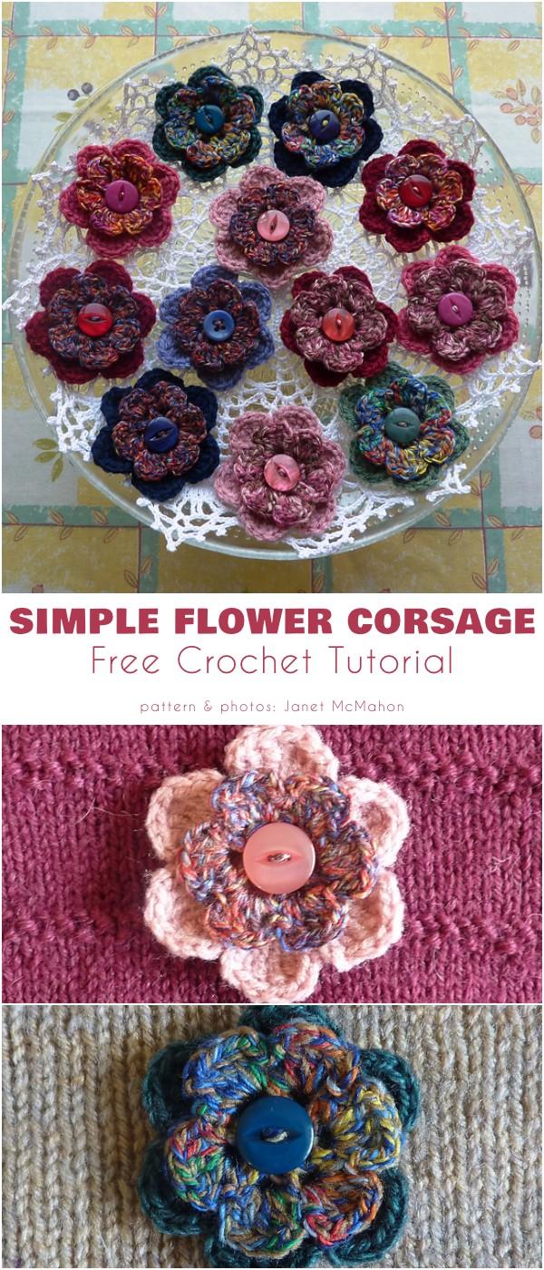 Simple Flower Corsage