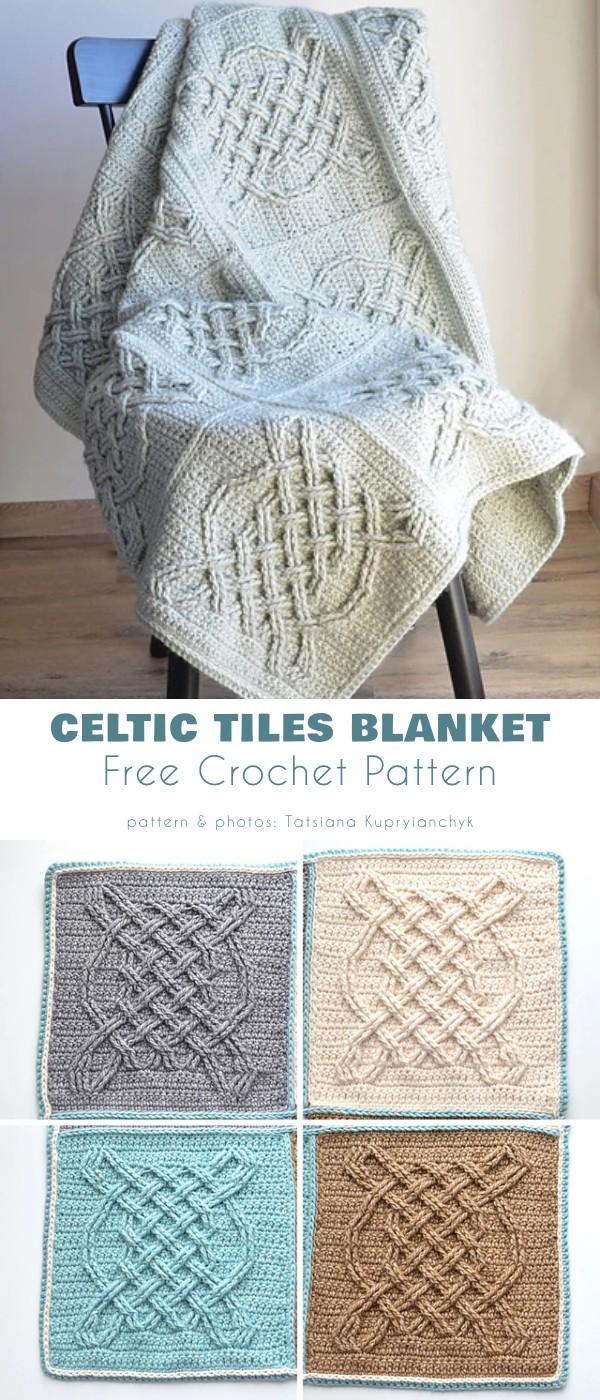 Celtic Tiles Blanket