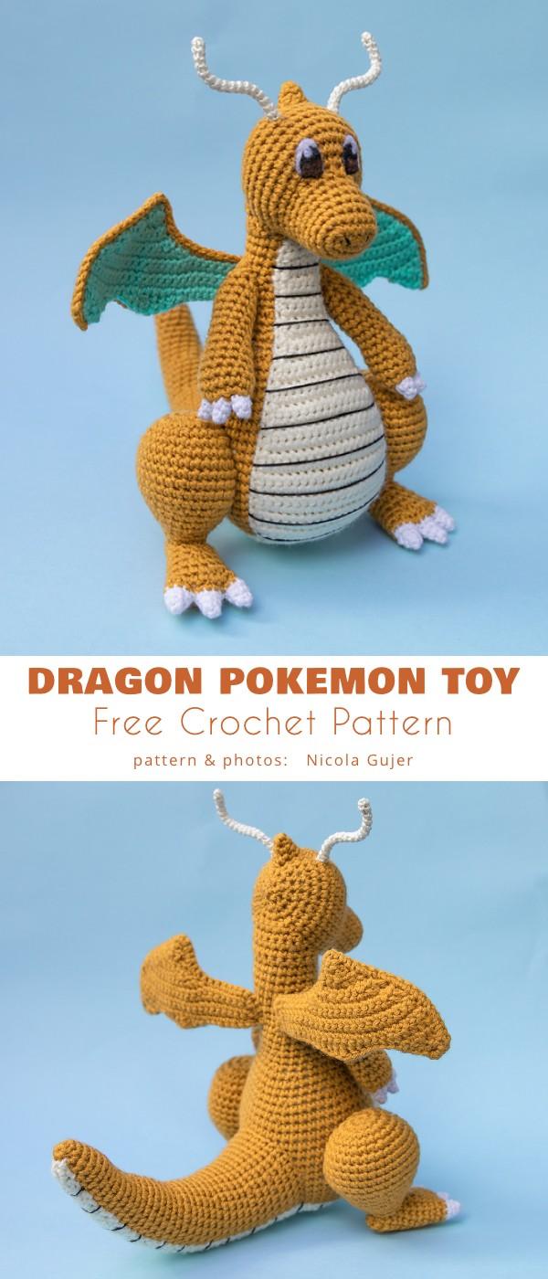Dragonite Pokémon Toy