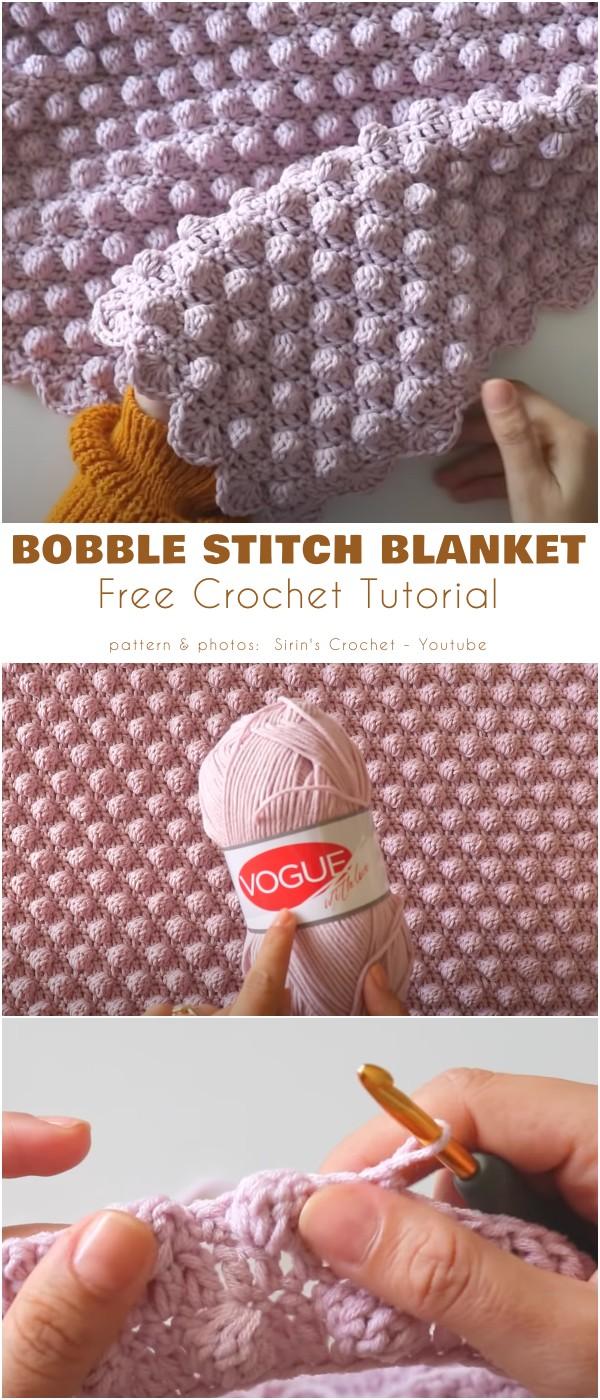 Bobble Stitch BLanket