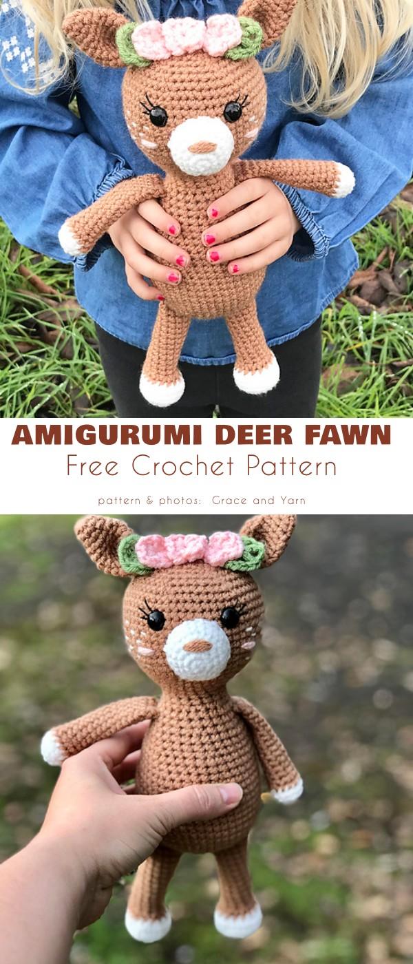 Amigurumi Deer Fawn