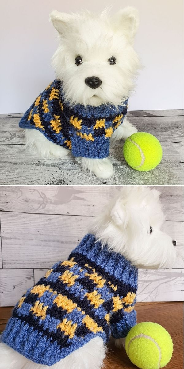 Cosy Dog Sweater Jumper