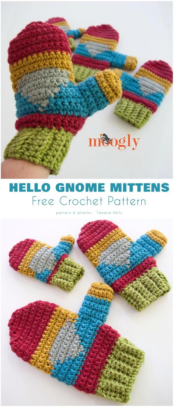 Hello Gnome Mittens