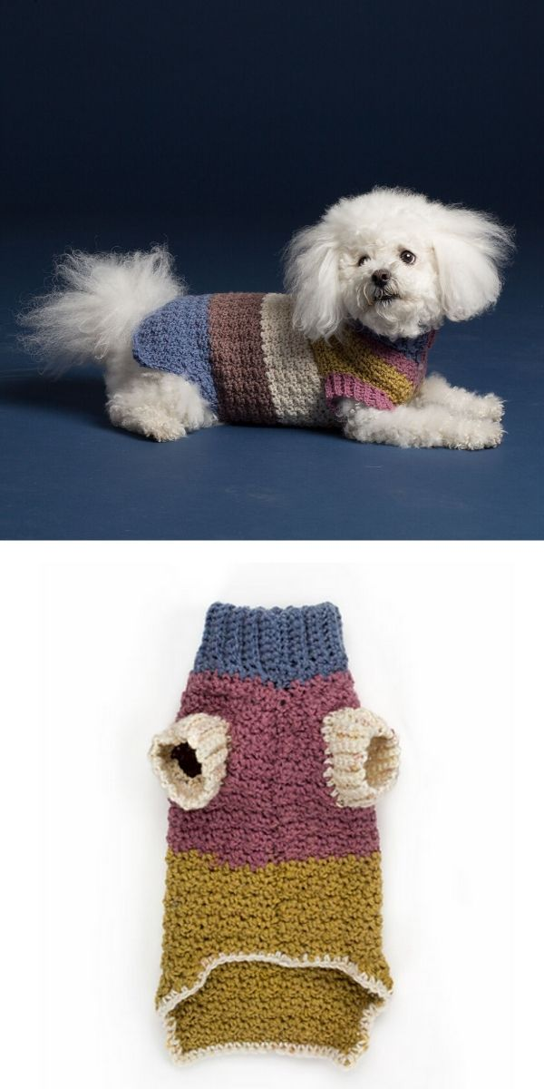Textured Dog Coat